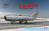 "La-200 with ""Korshun"" radar"