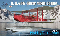 DH-60G Gipsy Moth Coupe floatplane