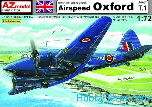Airspeed Oxford T.1 Navy