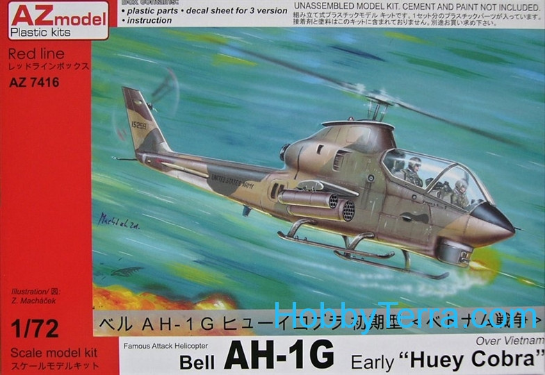 Bell AH-1G Early (Over Vietnam) HQ