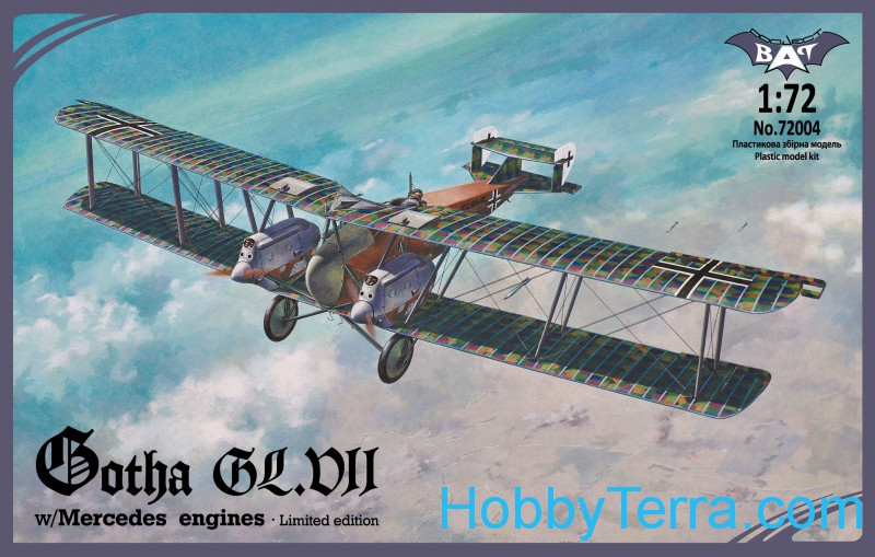 Gotha GL.VII w/Mercedes engines