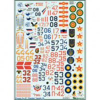 Decal 1/48 for Su-27, part 2