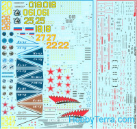 Decal 1/48 for Kamov Ka-50(52) Hokum family