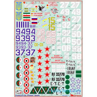 Decal 1/48 for Sukhoi Su-24