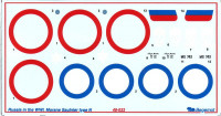 Decal 1/48 for Morane Saulnier type N