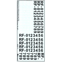 Decal 1/48 for Russian Air Force additional insignia (type 2010)