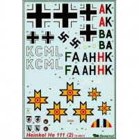 Decal 1/72 for Heinkel He-111, Part 2