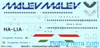 Decal 1/144 for IL-62M
