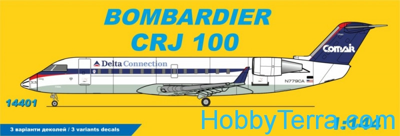 CRJ 100 Delta Connection Comair