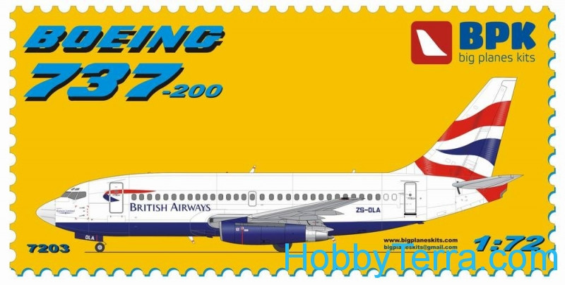 Boeing 737-200 British Airways