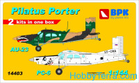 Pilatus Porter PC-6 & Au-23 (2 sets in the box) set1