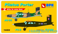Pilatus Porter PC-6 & Au-23 (2 sets in the box), set 2
