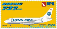 B 737-200 Pan American World Airways (Pan Am)
