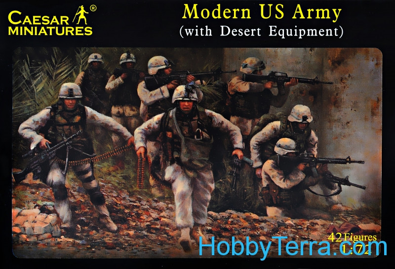 Caesar  030 Modern U.S. Army (with desert equipment)