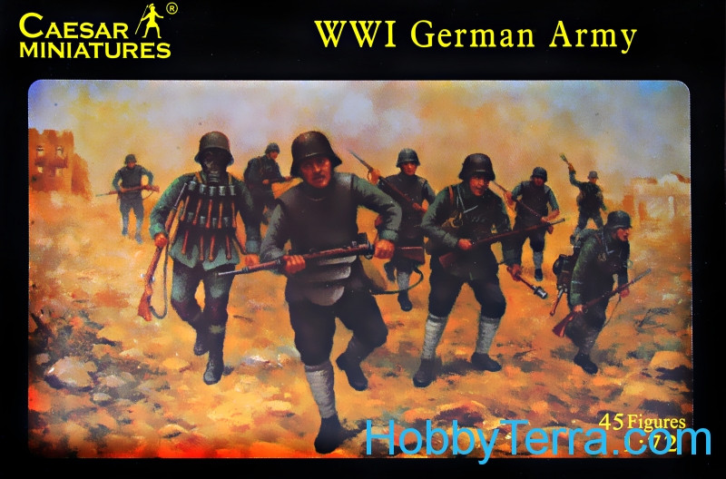 German army of World War I