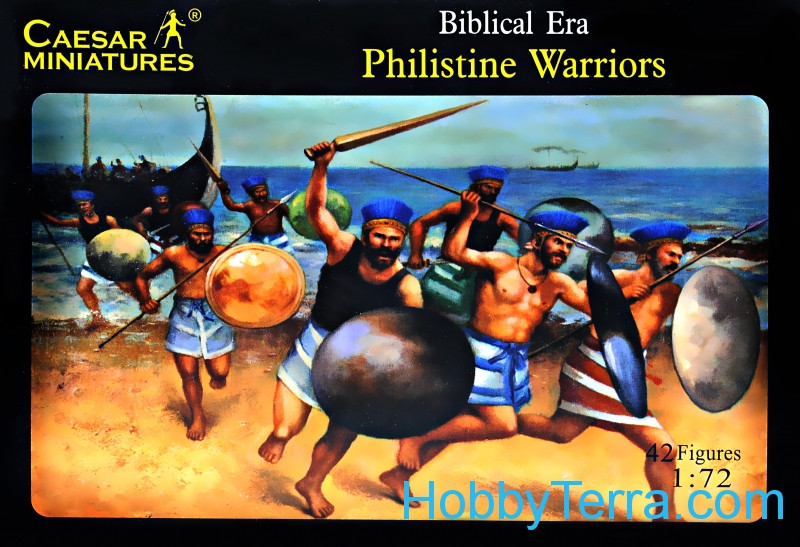 Caesar  046 Biblical Philistine warriors