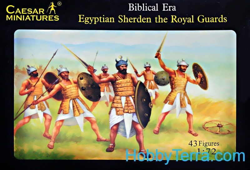 Egyptian Sherden the Royal Guards
