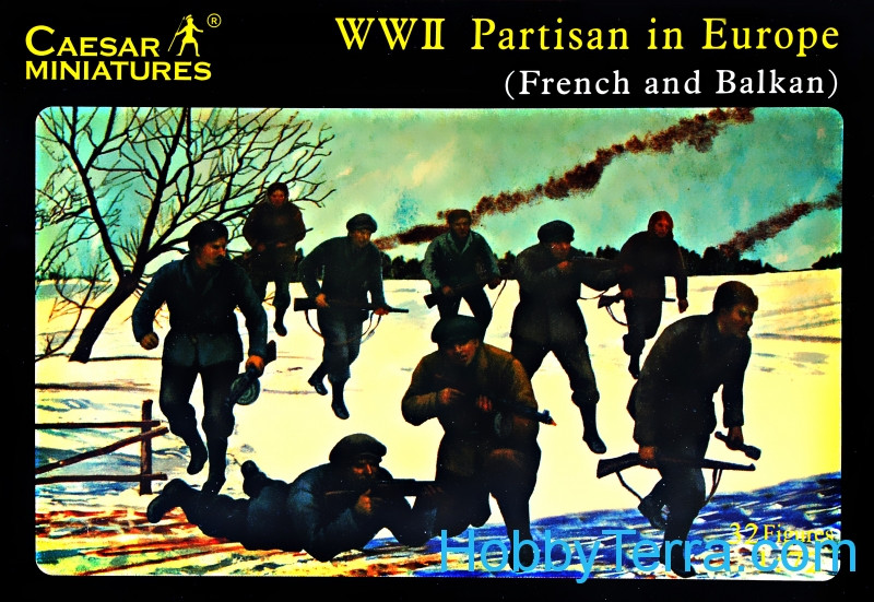 Caesar  056 Partisans in Europe, WWII