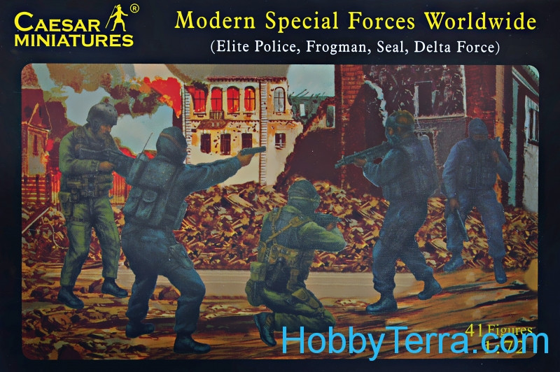 Modern Special Forces Worldwide (Elite Police, Frogman, Seal, Delta force)