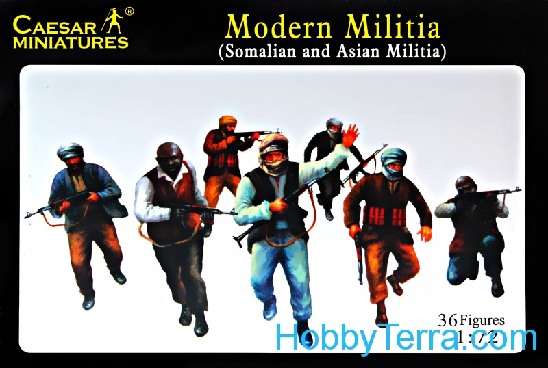 Caesar  063 Modern Militia (Asian and Somalian Militia)