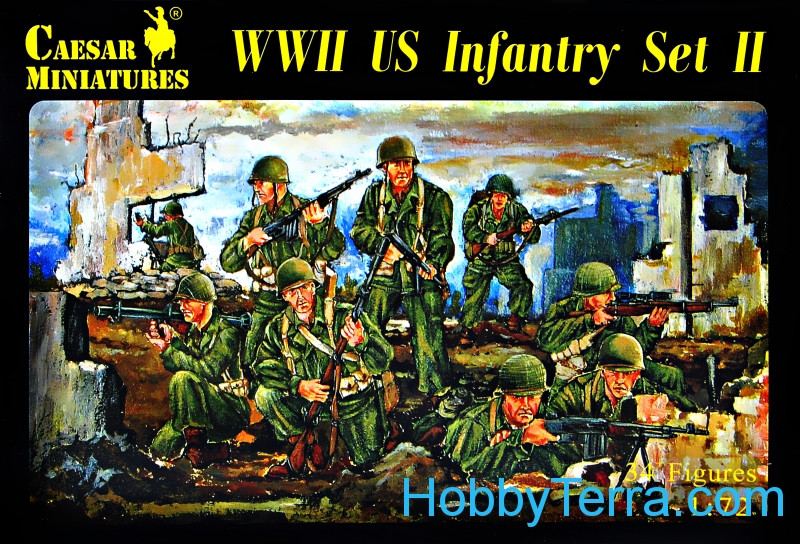 WWII US Infantry Set II