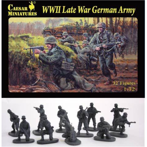 WWII Late War German Army