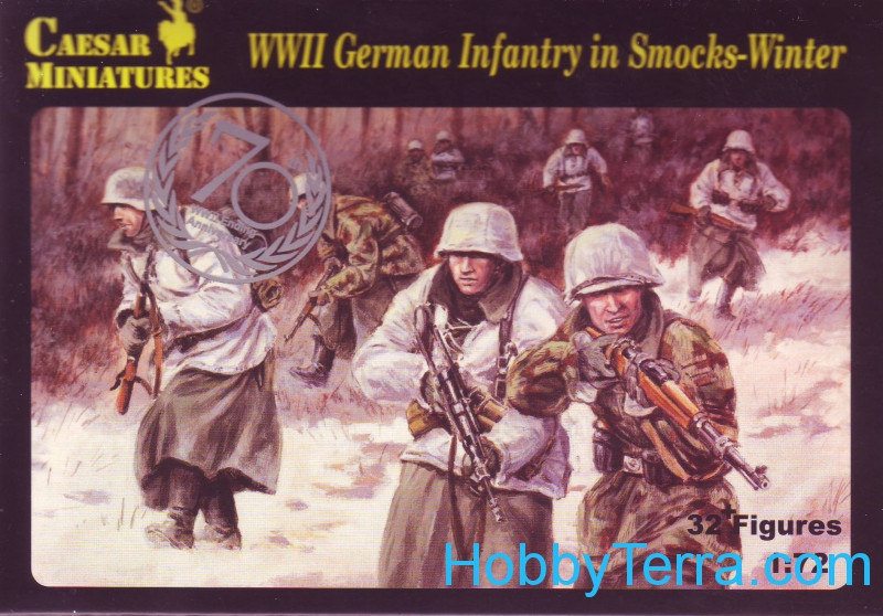 WWII German Infantry in smocks-winter