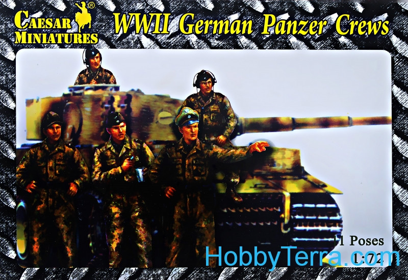 Caesar  B03 WWII German panzer crews