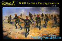 WWII German Panzergrenadiers 1