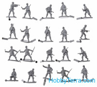 WWII German Panzergrenadiers set 1