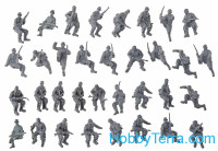 German infantry tank riders, winter, set 2