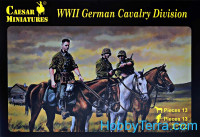 WWII German cavalry division