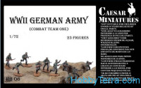 WWII German Army, combat team one