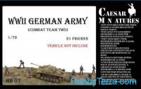 WWII German Army, combat team two