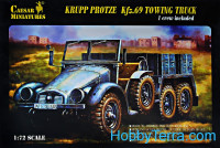 WWII Sd.Kfz.69 Towing Truck