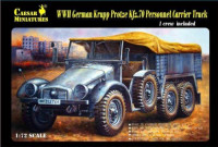 WWII German Krupp Protze Kfz.70 Personnel Carrier Truck