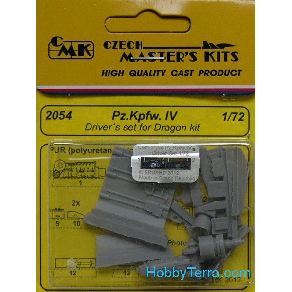 Pz.Kpfw. IV - Driver's set, for Dragon kit
