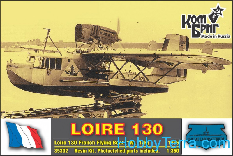 Loire 130 French flying boat, 1936 (1WL+1FH)