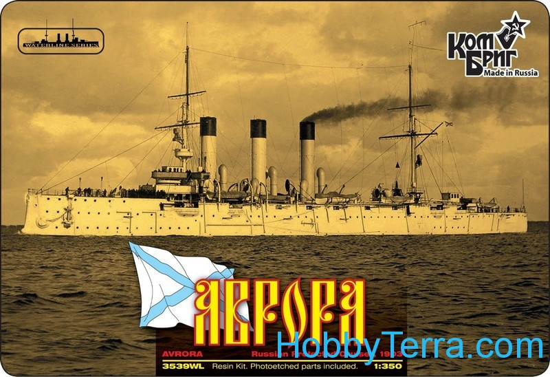 Aurora Protected Cruiser, 1903 (Full Hull version)