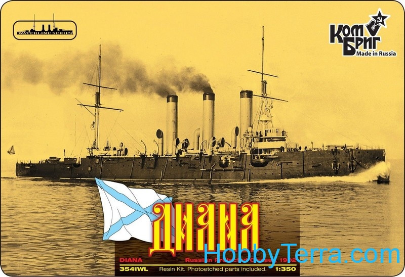 Combrig  3541FH Diana Protected Cruiser, 1902 (Full Hull version)