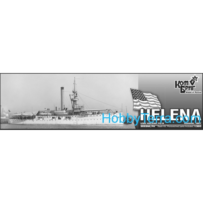 Combrig  3552WL-FH USS Helena PG-9 Gunboat, 1897