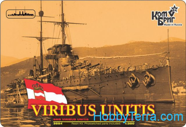 "SMS Viribus Unitis Battleship, 1912 (Full Hull version)<span style=""color: #ff0000""> FREE SHIPPING</span>"