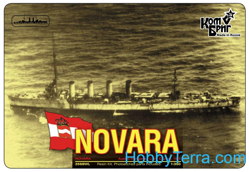 Combrig  3568WL SMS Novara Light Cruiser, 1915 (Water Line version)