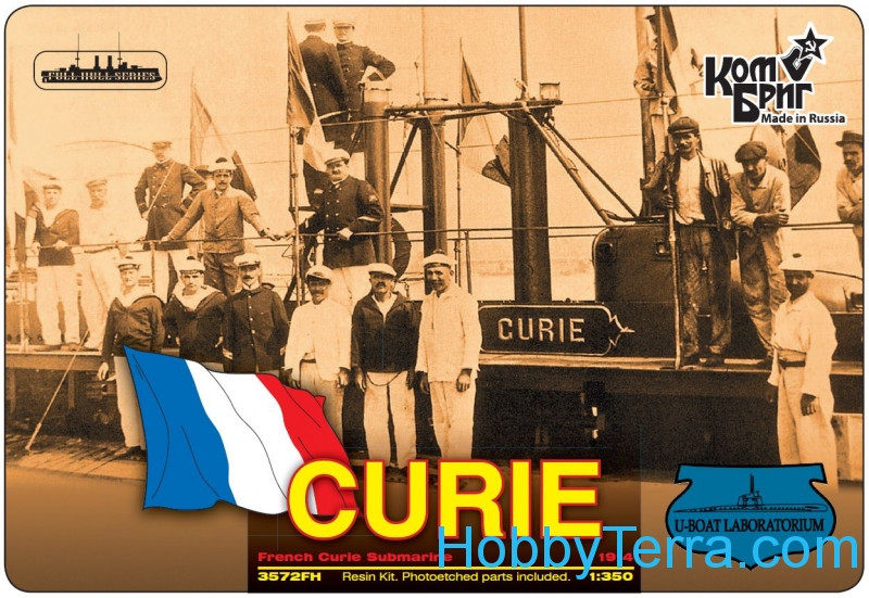 French Curie Submarine, 1914 (Full Hull version)
