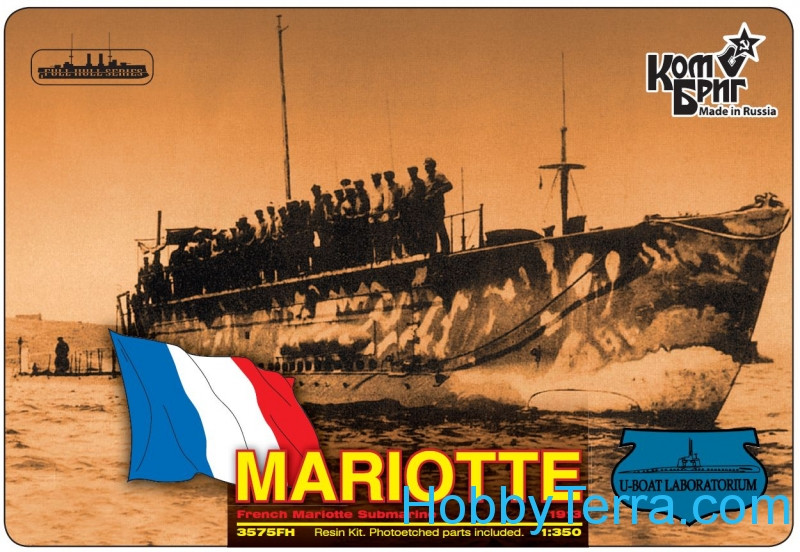 French Mariotte Submarine, 1913 (Full Hull version)