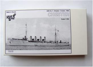 Combrig  70079 USS CL-1 Chester Cruiser, 1908