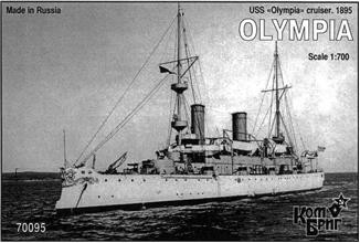 Combrig  70095 USS Olympia Cruiser, 1895
