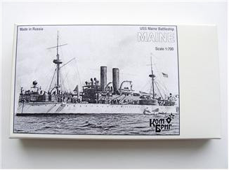 USS Maine Battleship, 1895