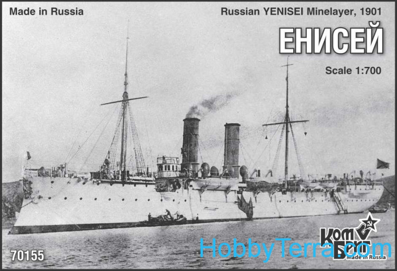 Yenisei Minelayer, 1901