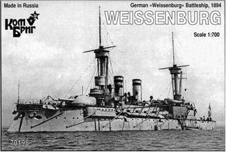 German Weissenburg Battleship, 1894